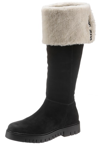 TOMMY JEANS Overkneestiefel »WARM LINED LONG SUEDE BOOT« kaufen