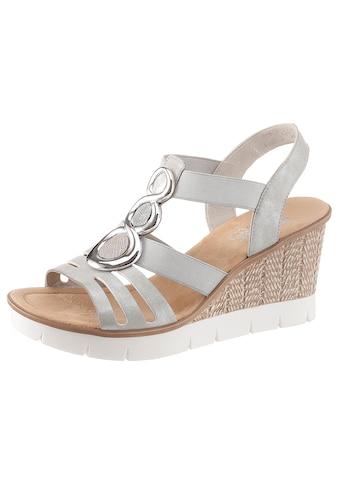 Rieker Sandalette, mit glänzendem Schmuckelement kaufen