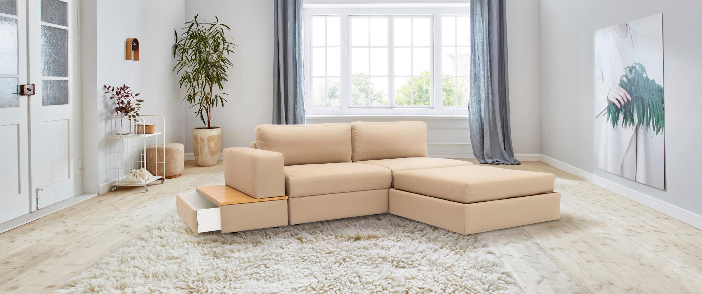 Image of 170QM Sofa »Familienzeit« (5 Teile)