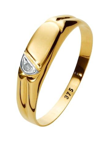 Lady Ring aus 375er Gelbgoldfarben kaufen