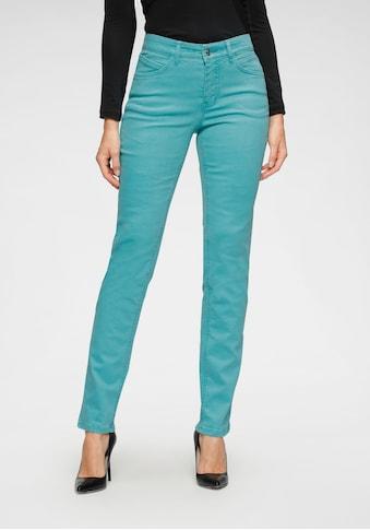 MAC Stretch-Jeans »Melanie Bees«, Kleine Bienen-Verzierungen an der hinteren Tasche kaufen