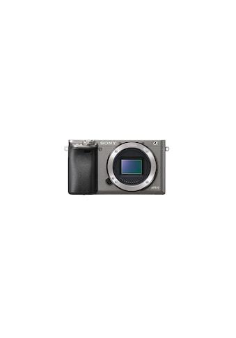 Sony Objektivkamera »Alpha 6000 Body Grau« kaufen