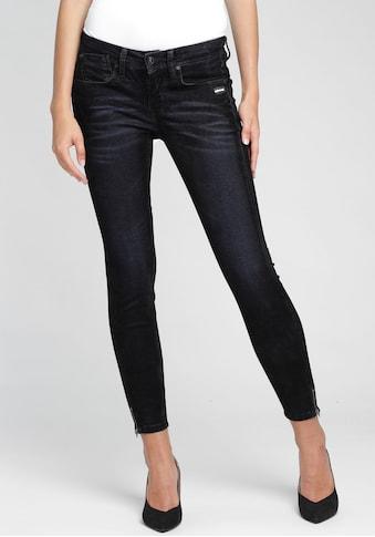 GANG Skinny-fit-Jeans »FAYE«, sexy Beinabschluss mit Reissverschluss kaufen