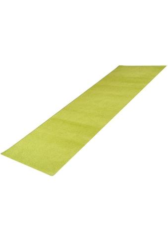 Living Line Läufer »Trend«, rechteckig, 8 mm Höhe, Teppich-Läufer, Velours, Uni-Farben kaufen