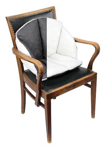 Sitzkissen mit einer weichen, warmen Winterseite und einer unempfindlichen Sommerseit kaufen