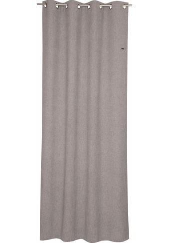 Esprit Vorhang »Harp«, HxB: 250x140, Blickdicht, mit Lederlabel, (BxH) 140 x 250 cm kaufen