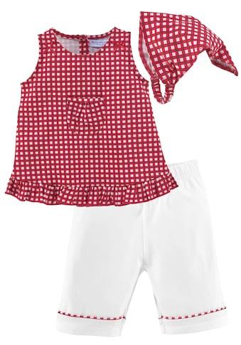 Klitzeklein Kleid, Hose & Kopftuch, aus Bio-Baumwolle kaufen