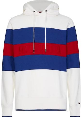 TOMMY HILFIGER Kapuzensweatshirt »BLOCK STRIPE HOODY« kaufen