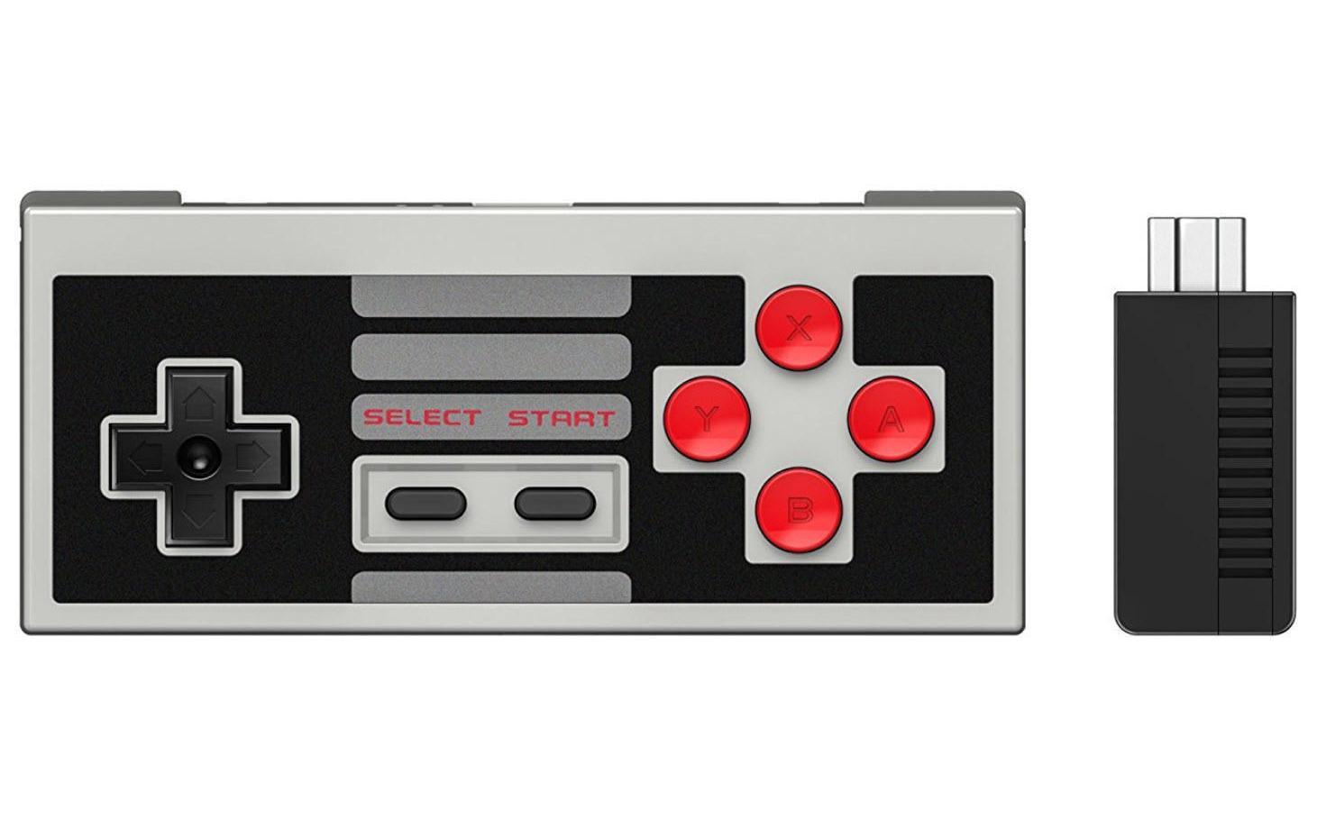 Image of 8bitdo Gamepad »NES30 Set inkl. Retro Receiver«