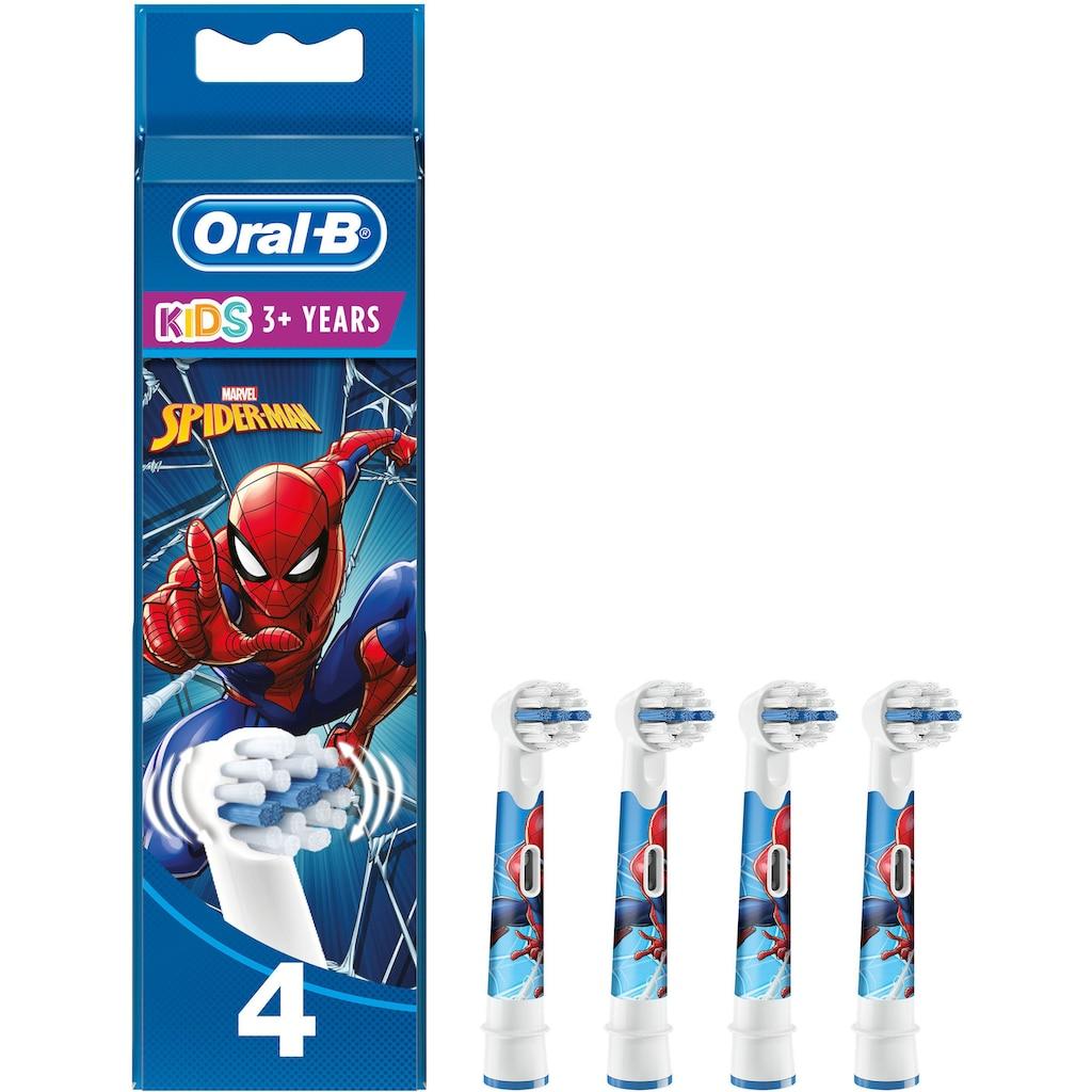 Oral B Aufsteckbürsten »Kids Spiderman«, für Kinder ab 3 Jahren