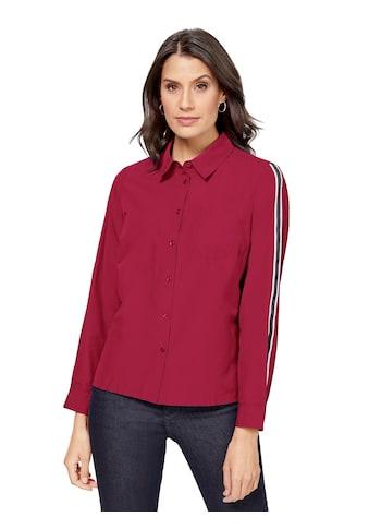 Classic Inspirationen Bluse mit schwarz - rotem Ripsband kaufen