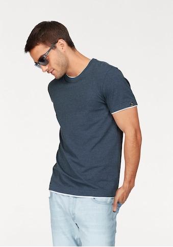 John Devin Rundhalsshirt, mit Elasthan kaufen