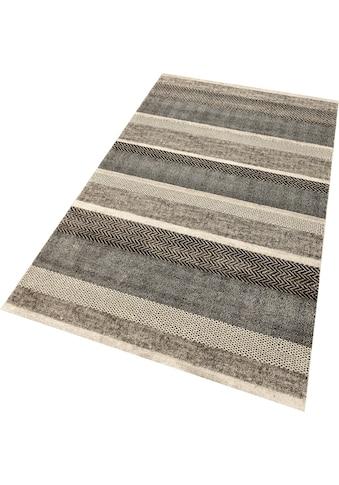 merinos Teppich »Milano 1454«, rechteckig, 10 mm Höhe, In- und Outdoor geeignet,... kaufen