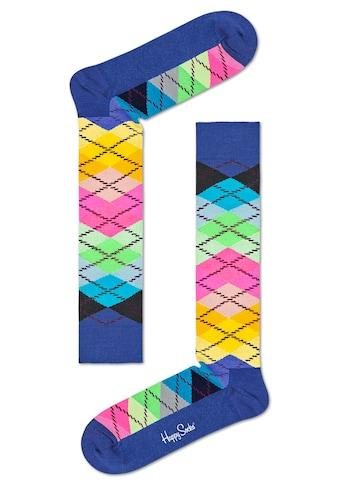 Happy Socks Kniestrümpfe »Argyle«, im klassischen Rautenmuster kaufen
