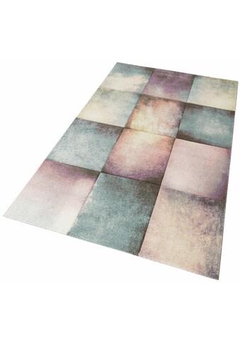 Teppich, »Pastel 21680«, merinos, rechteckig, Höhe 13 mm, maschinell gewebt kaufen