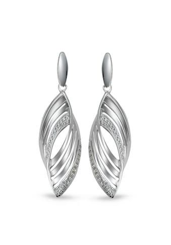 Ohrhänger Silberfarben Zirkonia rhodiniert kaufen