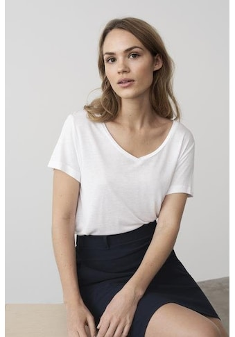 KAFFE T - Shirt »Anna V - Ausschnitt« kaufen