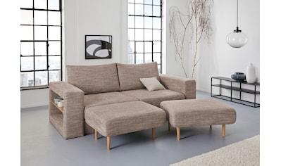 LOOKS by Wolfgang Joop 3,5-Sitzer »Looksvb«, Verwandlungssofa: aus Sofa wird Sofa mit... kaufen