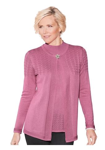 Classic Pullover mit hübschem Ajourmuster kaufen
