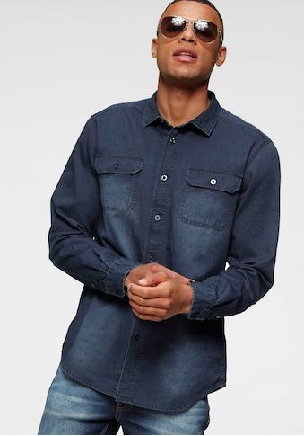 H.I.S Jeanshemd, mit zwei Taschen kaufen