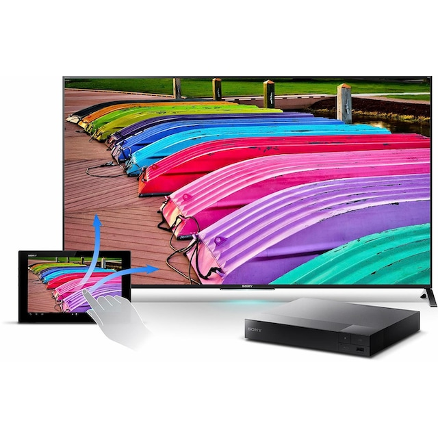 Sony »BDP-S3700« Blu-ray-Player (Miracast (Wi-Fi Alliance) LAN (Ethernet) WLAN, Full HD)