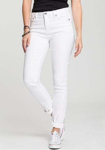 H.I.S Skinny-fit-Jeans »Shaping High-Waist mit Push-up Effekt«, Nachhaltige, wassersparende Produktion durch OZON WASH kaufen