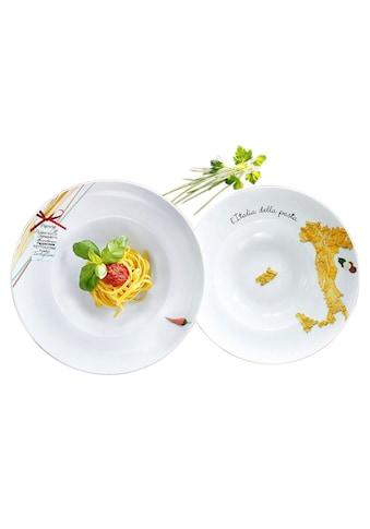 Retsch Arzberg Pastateller »Italia«, (6 St.), Porzellan kaufen