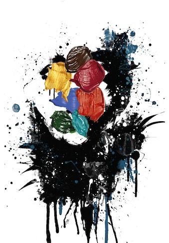queence Leinwandbild »Kunstwerk« kaufen