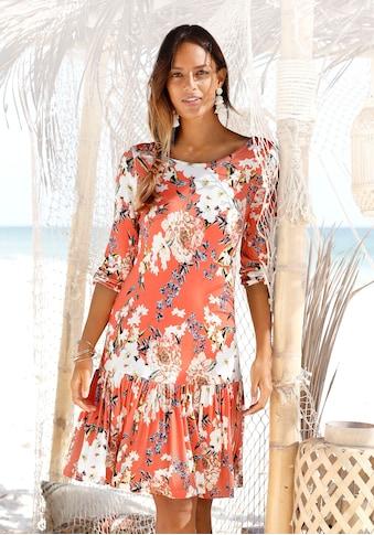 s.Oliver Jerseykleid, mit Blumenprint kaufen