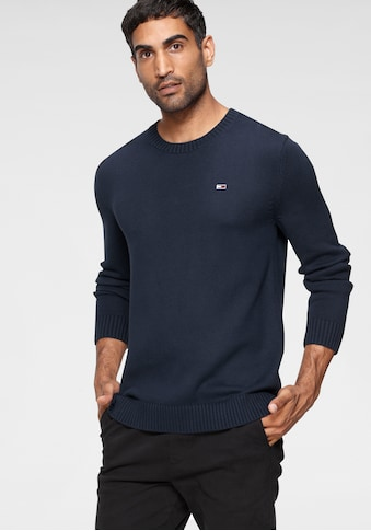 TOMMY JEANS Strickpullover »TJM ESSENTIAL CREW NECK SWEATER« kaufen