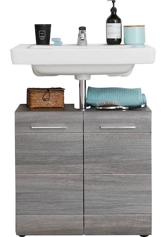 trendteam Waschbeckenunterschrank »Skin«, Höhe 56 cm, Badezimmerschrank mit Fronten in... kaufen