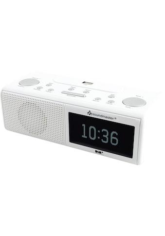 Soundmaster Radiowecker »UR8350WE Weiss«, ( Digitalradio (DAB+)-FM-Tuner ) kaufen