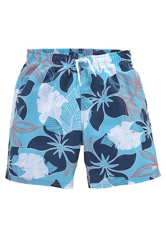 KangaROOS Badeshorts, (1 St.), mit Hawaiiprint kaufen