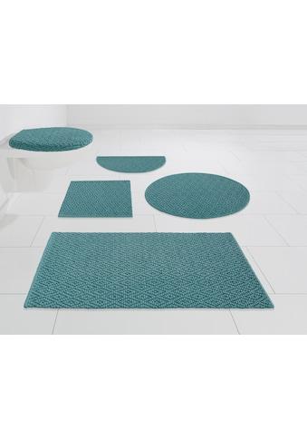 Badematte »Numan«, Home affaire, Höhe 10 mm, schnell trocknend strapazierfähig kaufen