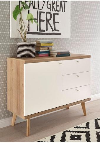 andas Sideboard »Merle«, im skandinavischen Design, Breite 107 cm kaufen