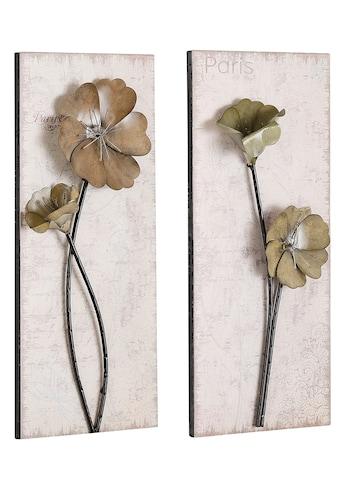 HOFMANN LIVING AND MORE Wandbild »Used-Look-Optik«, (Set), 2x 30/71 cm kaufen