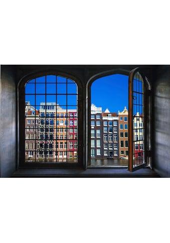 queence Wandsticker »Häuserfront« kaufen