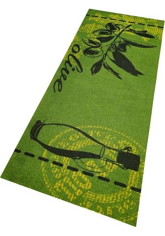 Küchenläufer, »Olive«, Zala Living, rechteckig, Höhe 5 mm, maschinell gewebt kaufen