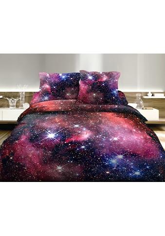 Satin - Bettwäsche, Digitaldruck, Home Fashion, »Galaxy« kaufen