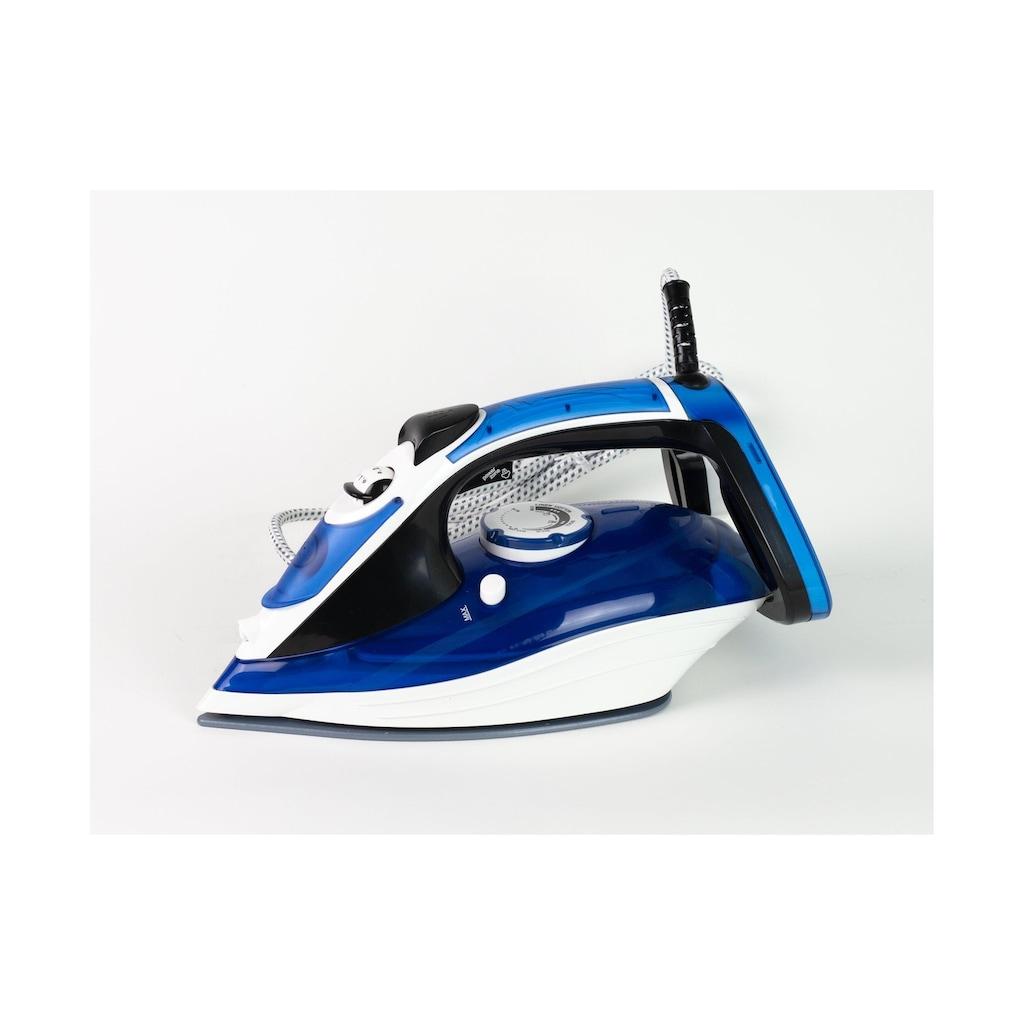 Dampfbügeleisen »OHM-STI-8001CER Blau«, 2200 W