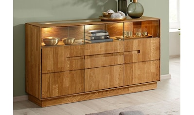 Premium collection by Home affaire Sideboard »Pavo«, inklusive LED Beleuchtung kaufen
