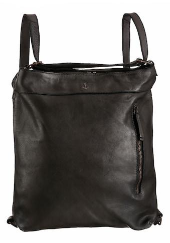HARBOUR 2nd Cityrucksack, aus Leder, auch als Tasche tragbar kaufen