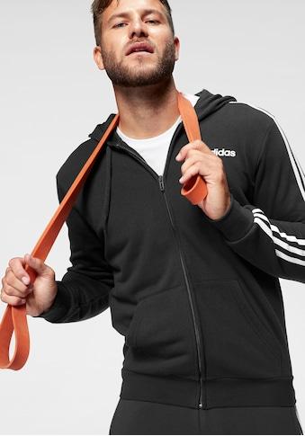 adidas Performance Kapuzensweatjacke »ESSENTIALS 3-STREIFEN« kaufen
