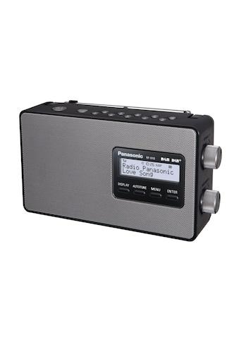 Panasonic Digitalradio (DAB+) »RF-D10EG-K Schwarz«, (CD Digitalradio (DAB+)-FM-Tuner ) kaufen