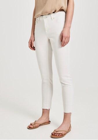 OPUS Ankle-Jeans »Elma«, offener, leicht ausgefranster Hosensaum kaufen