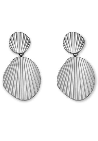 ROSEFIELD Paar Ohrstecker »Shell shape earrings silver, JSSHES - J170« kaufen