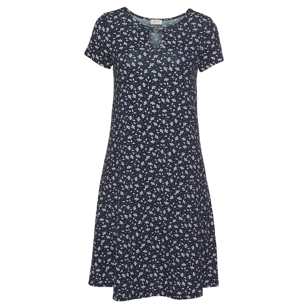 Boysen's Jerseykleid, in leichter A-Form