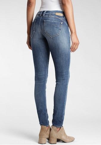 GANG Skinny-fit-Jeans »Nikita«, mit den gekreuzten Gürtelschlaufen links vorne kaufen