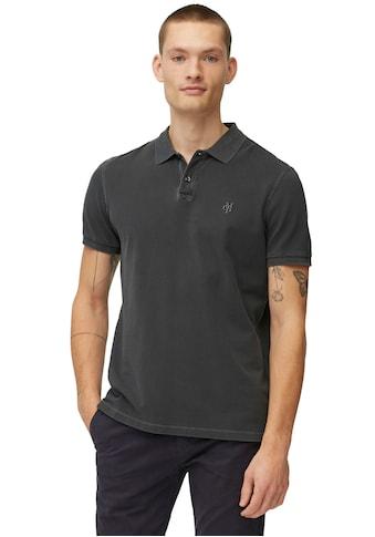 Marc O'Polo Poloshirt, im Used- Look, Piqué- Qualität kaufen