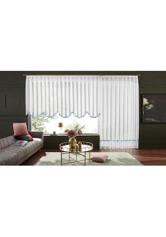 my home Gardine »Eby«, Vorhang, Fertiggardine, Store, transparent kaufen